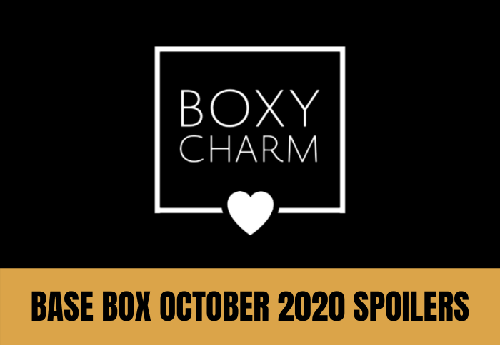 BoxyCharm October 2020 Spoilers 1 of 7