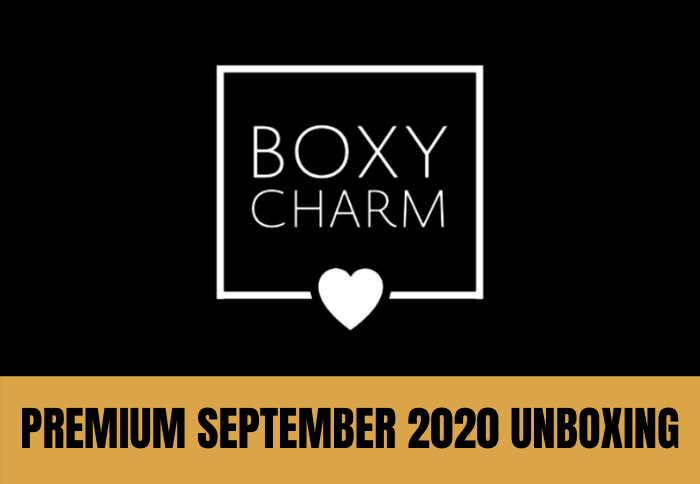 BoxyCharm Premium September 2020 Unboxing 1 of 5