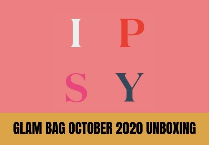 Ipsy Glam Bag October 2020 Unboxing 11 of 12