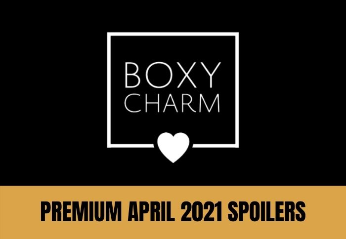 BoxyCharm Premium April 2021 Spoilers 2 of 4